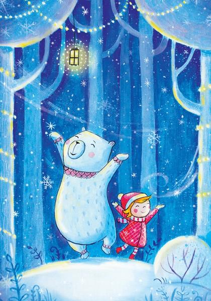 Ия и Ян. Снежные чудеса