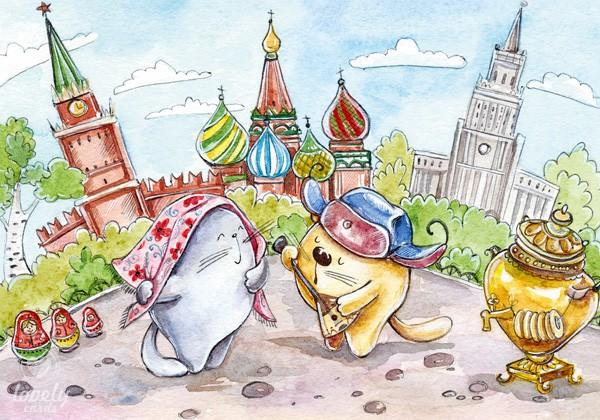 Кругосветное путешествие. Россия