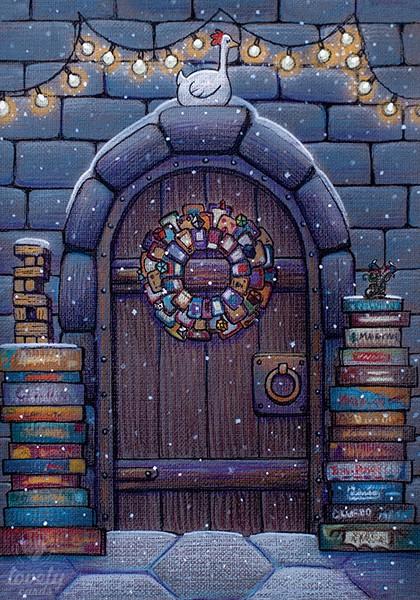 Новогодняя дверь в мир настольных игр
