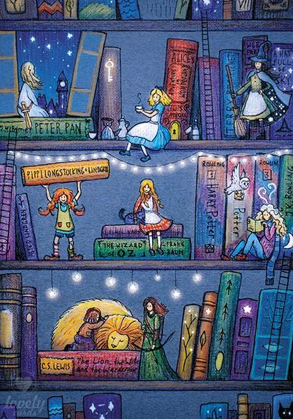 Книжные девочки