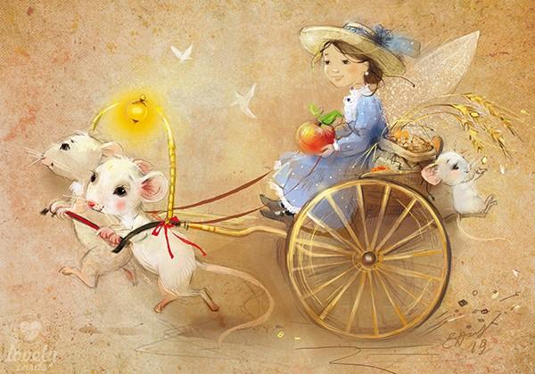 Фея и мышки