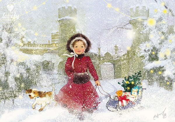 Воронцовский дворец. Зимний сон