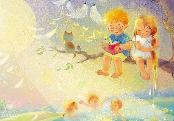 Когда купаются ангелы...
