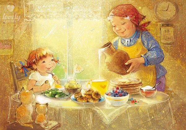 Бабушкин завтрак