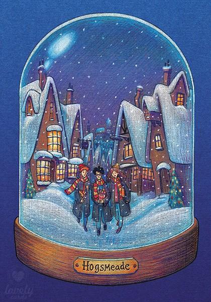Рождество в Хогсмиде