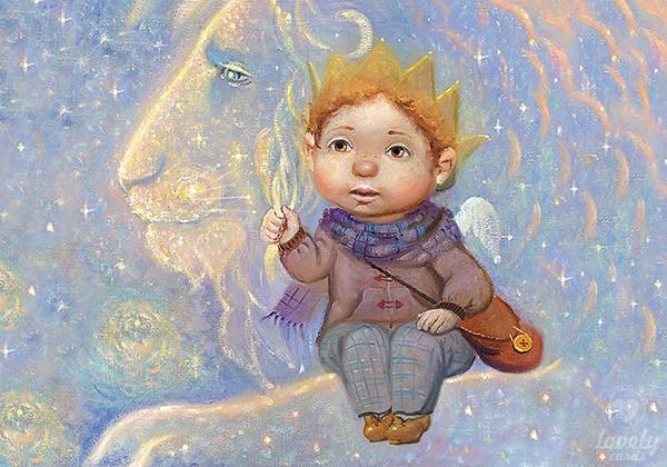 Маленький принц и лев