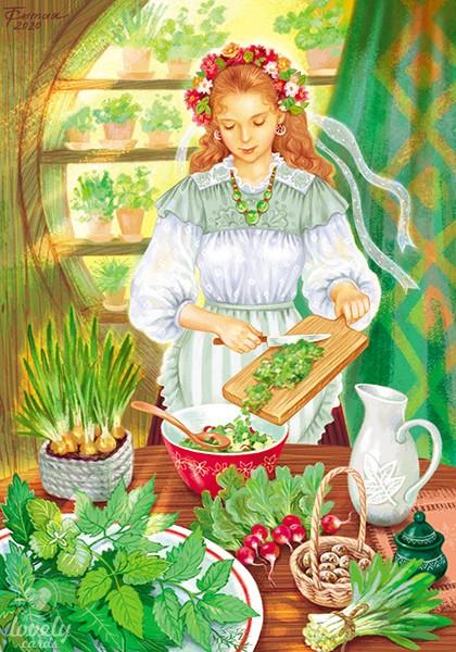 Весенняя зелень