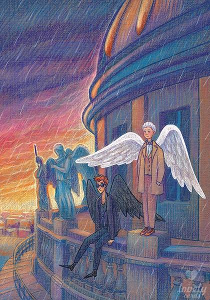 Ангелы над Петербургом