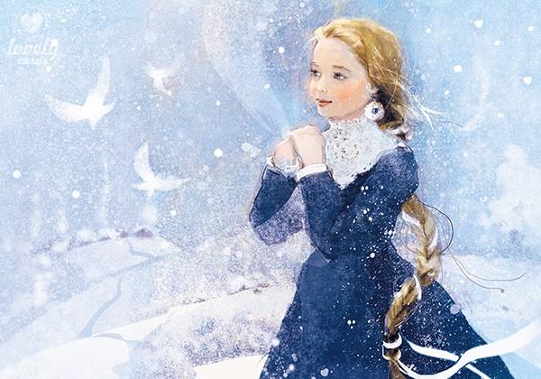 Когда появляется Снегурочка...